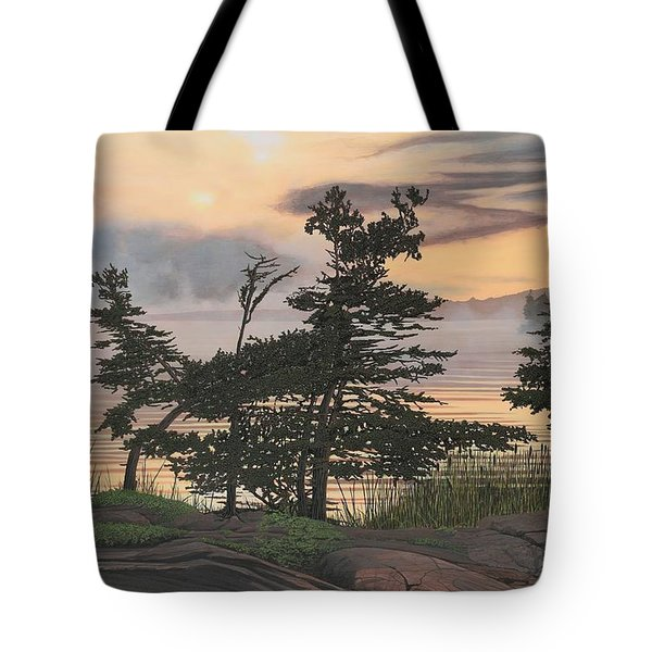 Auburn Evening Tote Bag by Kenneth M  Kirsch