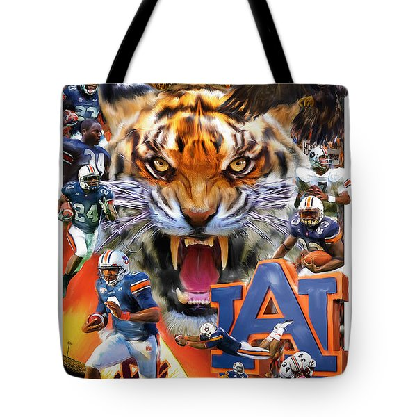 Auburn Tigers Tote Bag