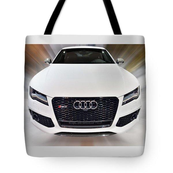 Audi  R S 7 Quattro 2014 Tote Bag