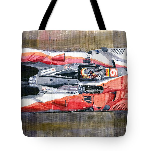 Audi R15 Tdi Le Mans 24 Hours 2010 Winner  Tote Bag
