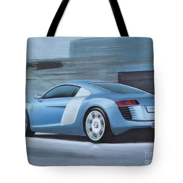 Audi R8 Lemans Concept Tote Bag by Paul Kuras