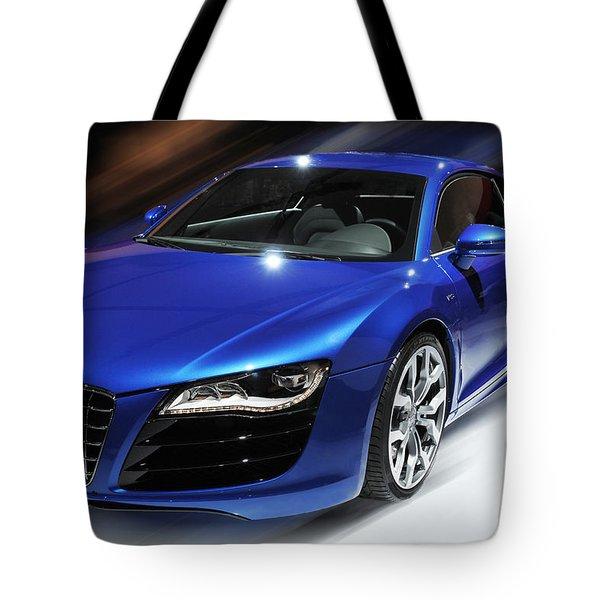 Audi R8 V10 Fsi Tote Bag