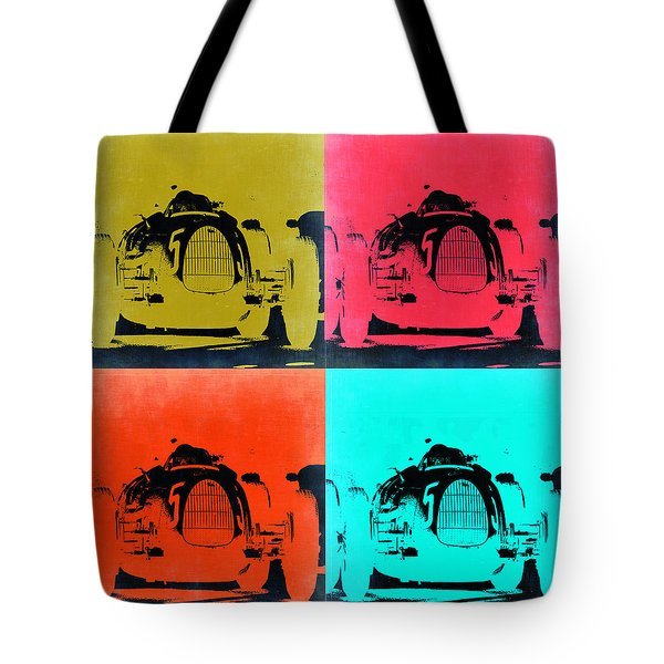 Audi Silver Arrow Pop Art 2 Tote Bag