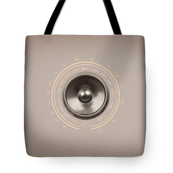 Audio Retro 6 Tote Bag