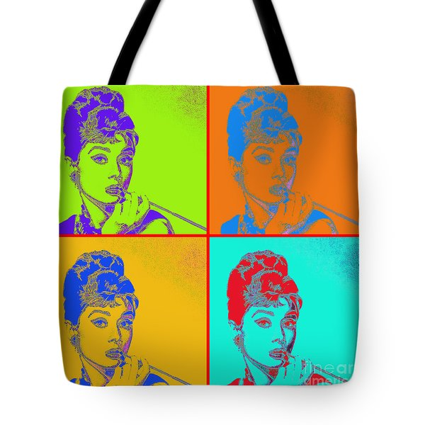 Audrey Hepburn 20130330v2 Four Tote Bag