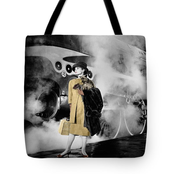 Audrey Hepburn 7 Tote Bag by Andrew Fare
