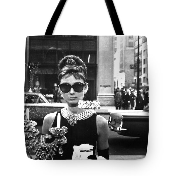 Audrey Hepburn Breakfast At Tiffany's Tote Bag