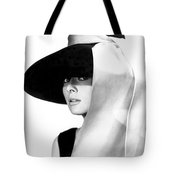 Audrey Hepburn Tote Bag by Daniel Hagerman