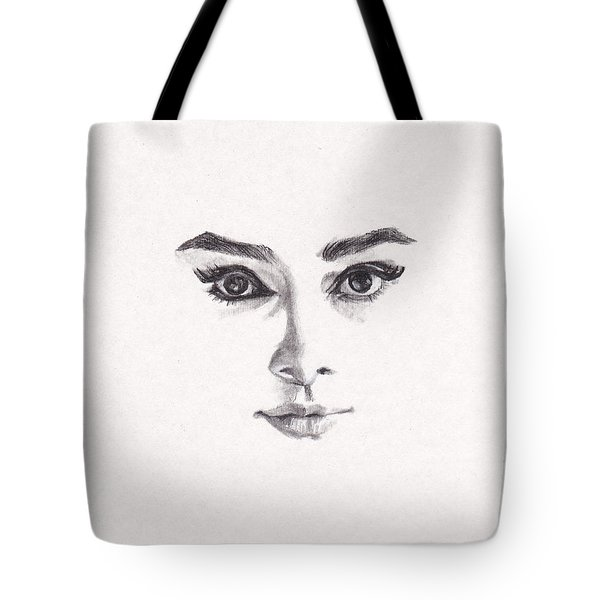 Audrey Tote Bag by Lee Ann Shepard