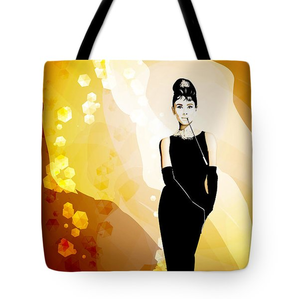 Audrey Tote Bag by Matt Lindley
