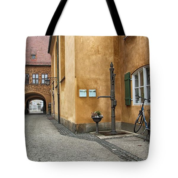 Tote Bag featuring the photograph Augsburg Germany by Paul Fearn