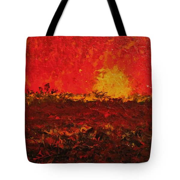 August Fields Tote Bag