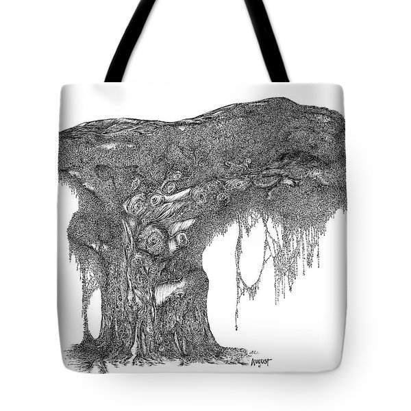 August '12 Tote Bag