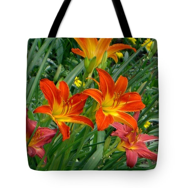 Lilies Galore Tote Bag