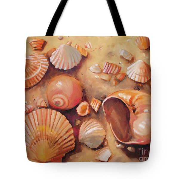 August Shells Tote Bag