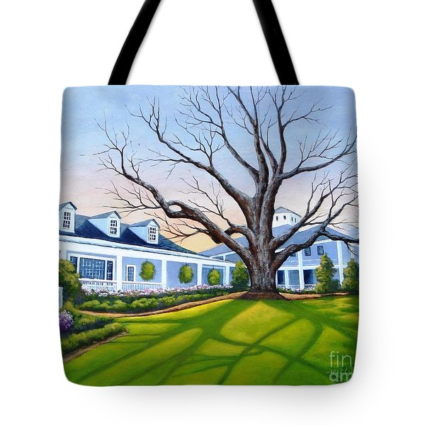 Augusta National Clubhouse Tote Bag