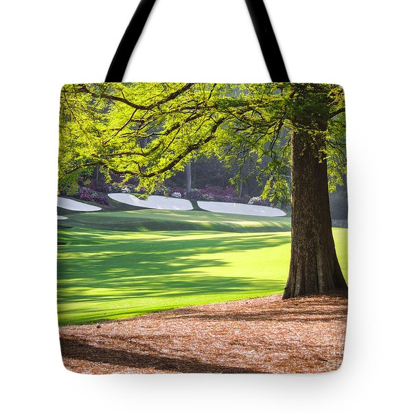 Augusta  Phils' View At 13 Tote Bag