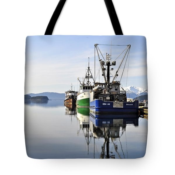 Auke Bay Reflection Tote Bag