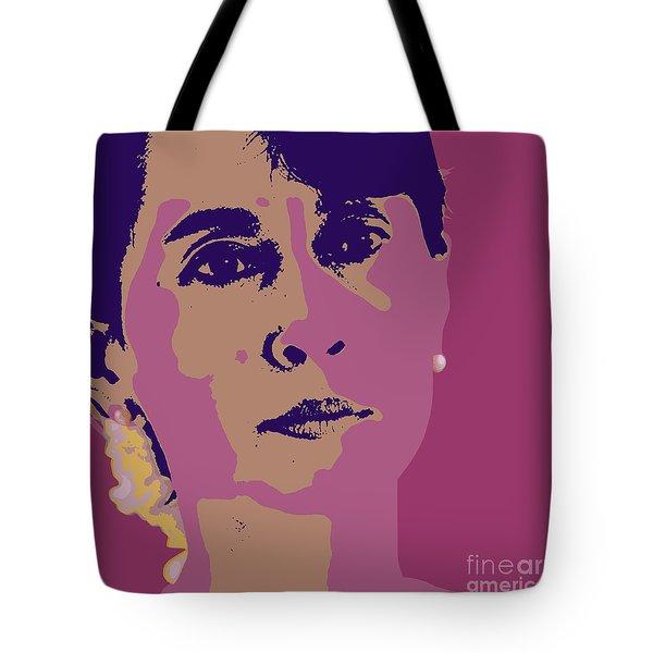 Aung San Suu Kyi Tote Bag