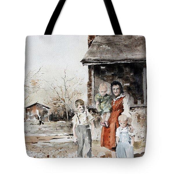 Aunt Peg Tote Bag