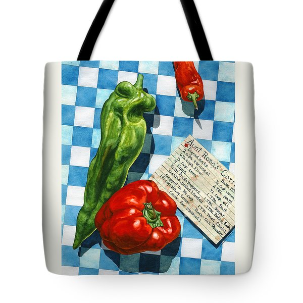 Aunt Rosa's Cornbread Tote Bag