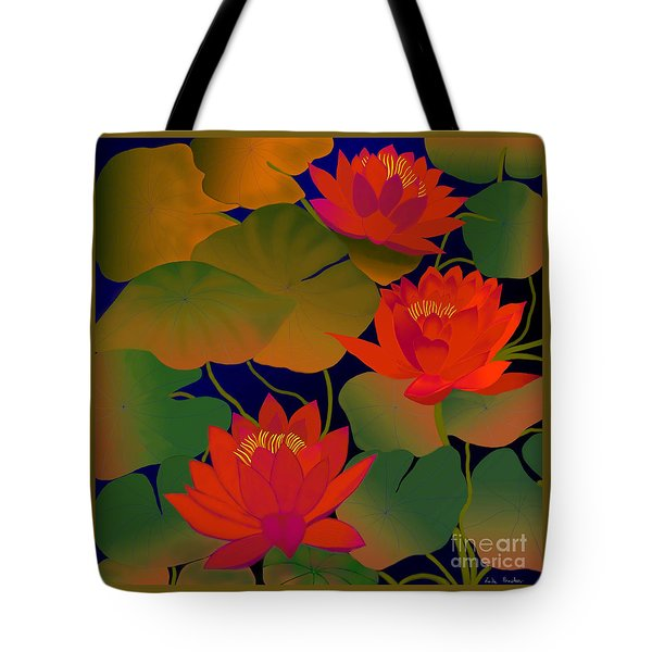 Aura Tote Bag by Latha Gokuldas Panicker