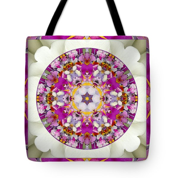 Tote Bag featuring the photograph Aura Of Joy by Bell And Todd