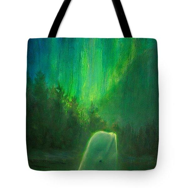 Aurora Beluga Tote Bag