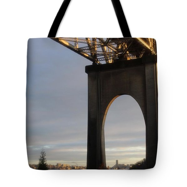 Aurora Bridge Seattle Washington  Tote Bag