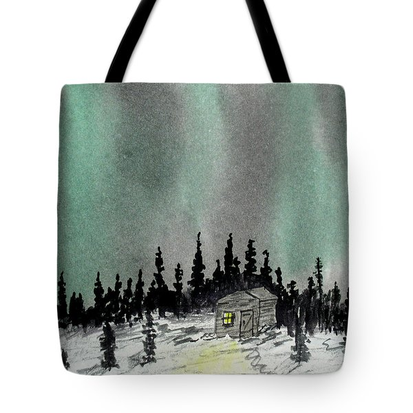 Aurora Magic - Dance Of The Lights Tote Bag by R Kyllo