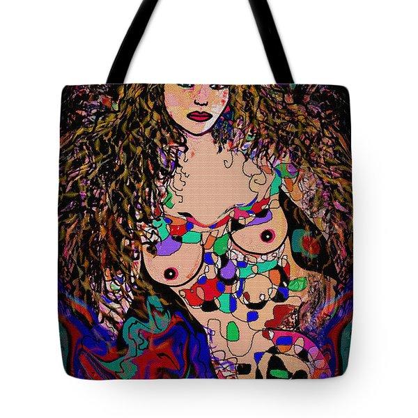 Aurora Tote Bag by Natalie Holland