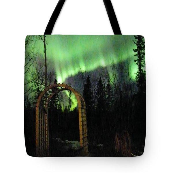 Auroral Arch Tote Bag by Brian Boyle