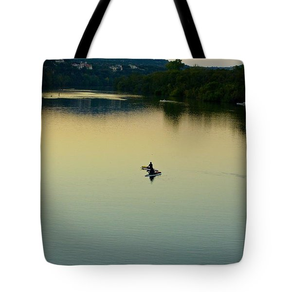 Austin Lady Bird Lake Tote Bag
