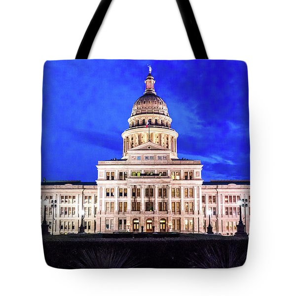 Austin State Capitol Building, Texas - Tote Bag