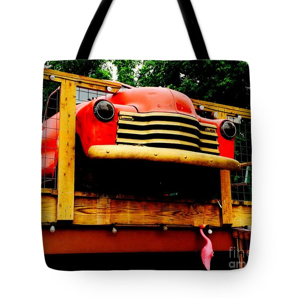 Austin Texas - Maria's Taco Express - Luther Fine Art Tote Bag