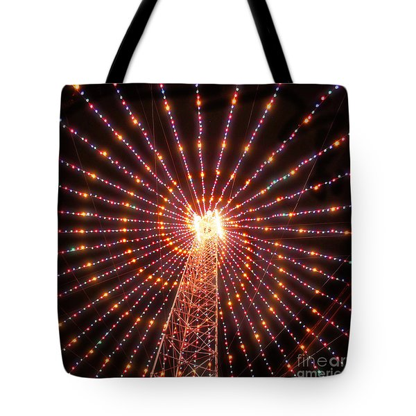 Austin Texas Trail Of Lights  Tote Bag
