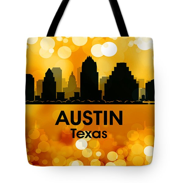 Austin Tx 3 Tote Bag