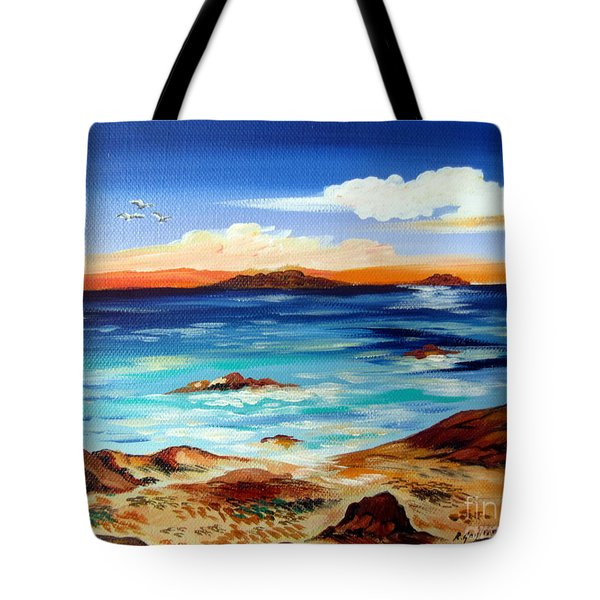 Australian Beach Downsouth Tote Bag