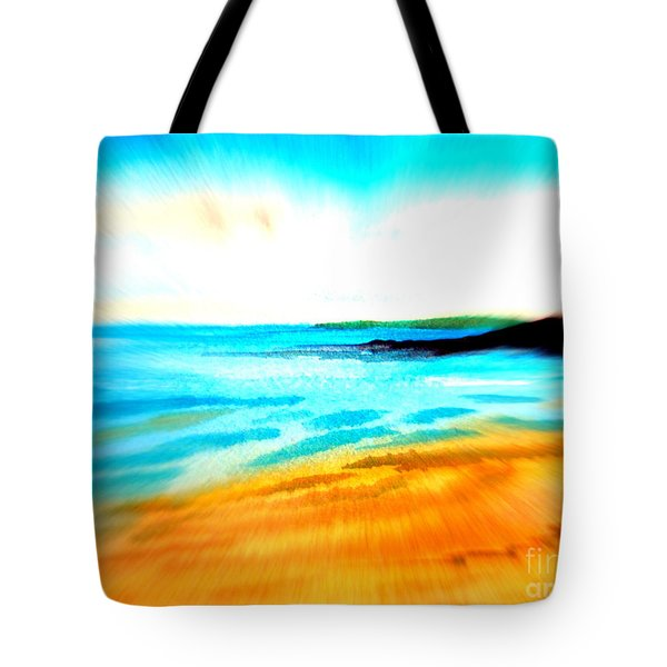Australian Beach In The Morning Near Cottesloe Tote Bag