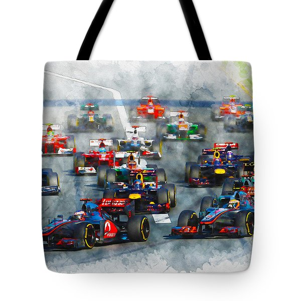 Australian Grand Prix F1 2012 Tote Bag