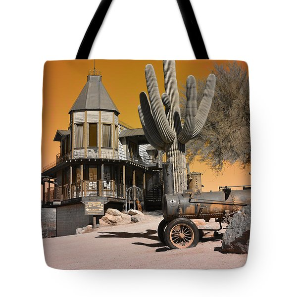 Authentic Ghost Town Tote Bag by Beverly Guilliams