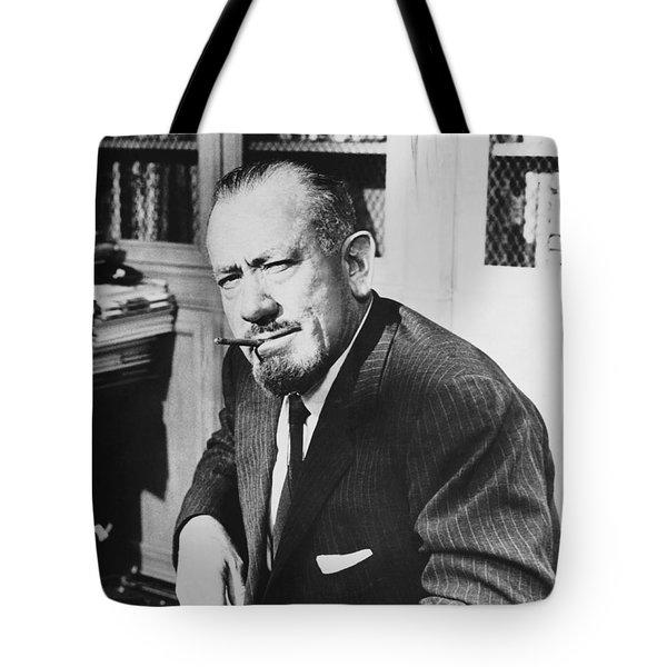 Author John Steinbeck Tote Bag