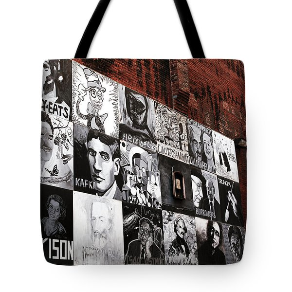 Authors In Boston Tote Bag