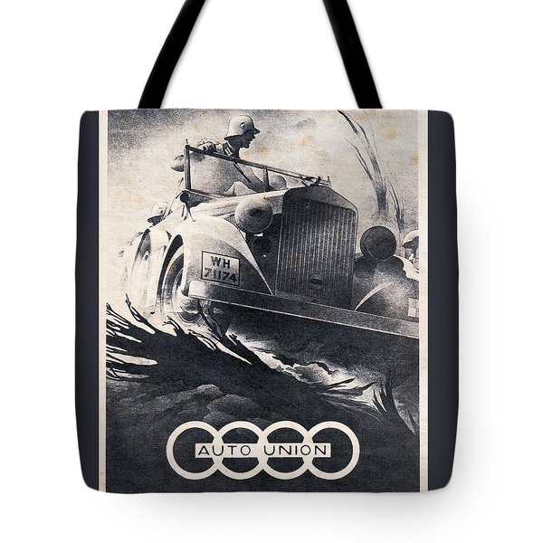 Auto Union Tote Bag