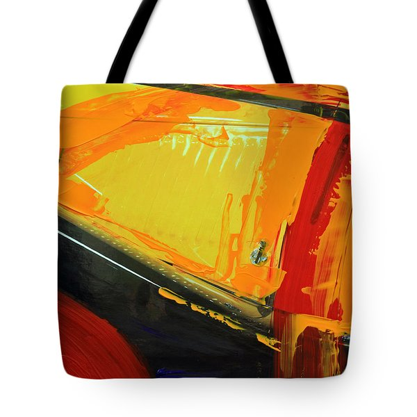 Tote Bag featuring the photograph Abstract Composition No 2 by Walter Fahmy