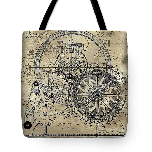 Autowheel II Tote Bag by James Christopher Hill