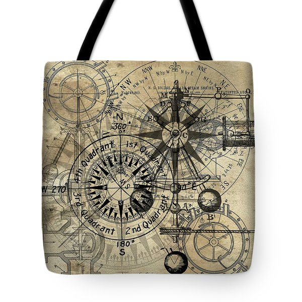 Autowheel IIi Tote Bag by James Christopher Hill