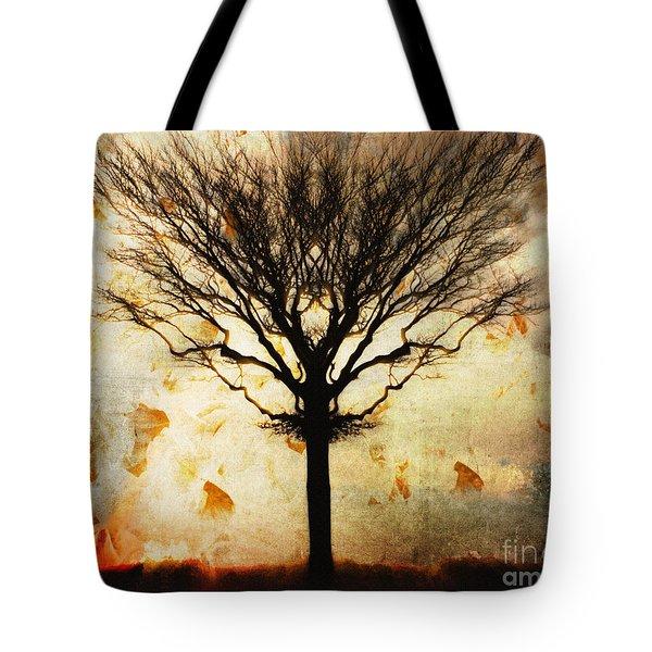 Autum Wind Tote Bag