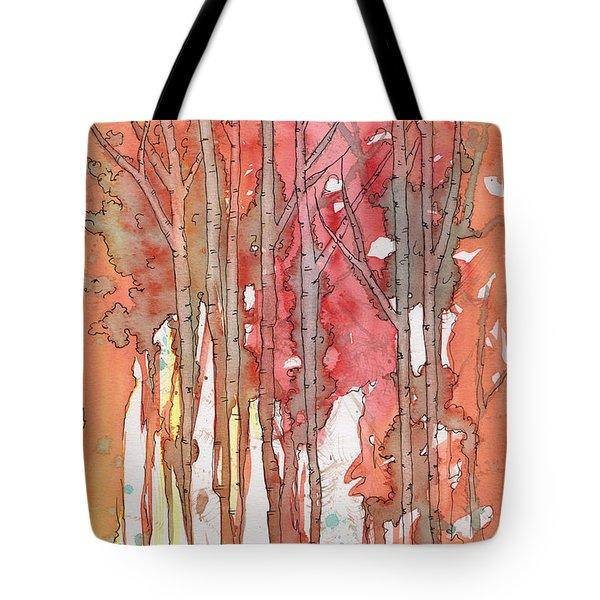 Autumn Abstract No.1 Tote Bag