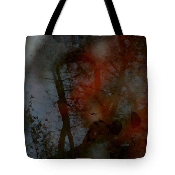 Tote Bag featuring the photograph Autumn Abstract by Photographic Arts And Design Studio